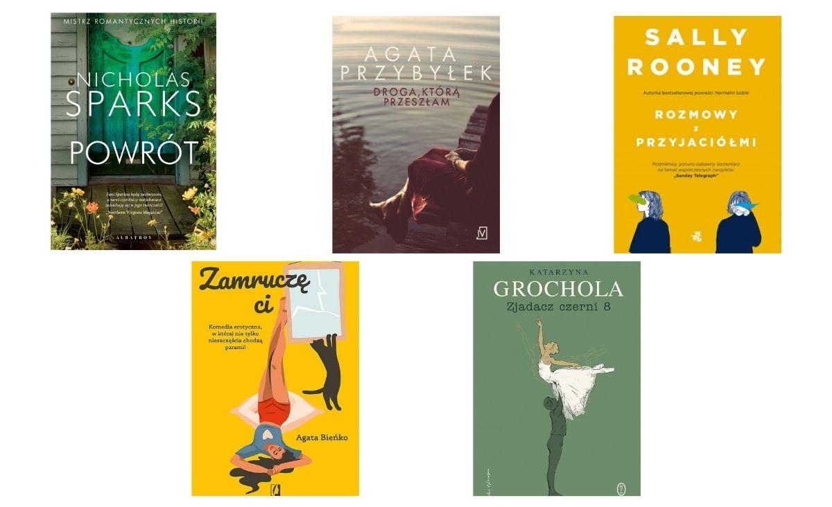 Najlepsze powieści obyczajowe  - 5 nowości wydawniczych, które warto przeczytać