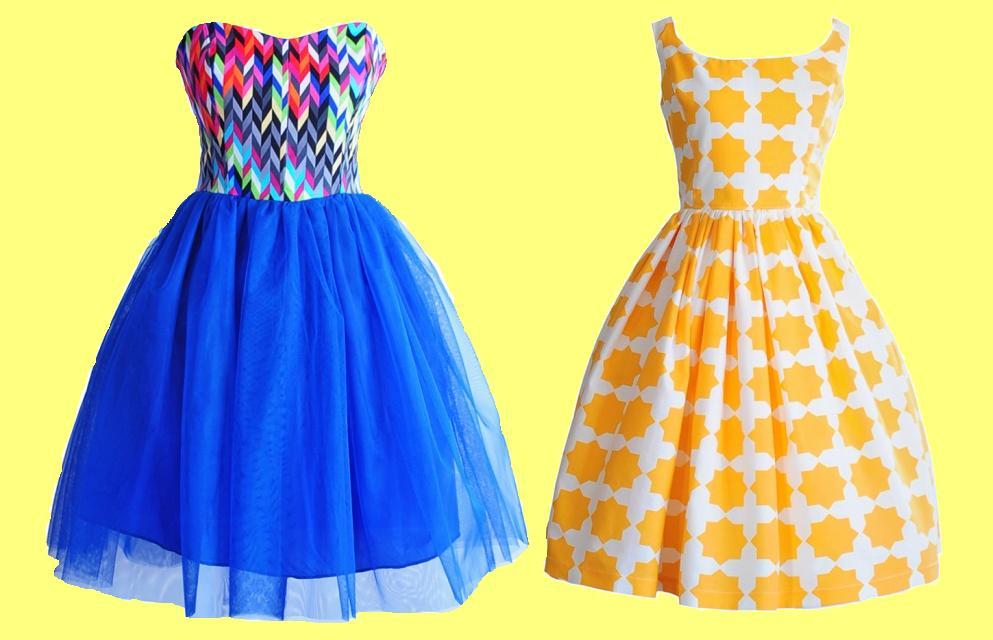 Szyjemy sukienki-nosimy sukienki