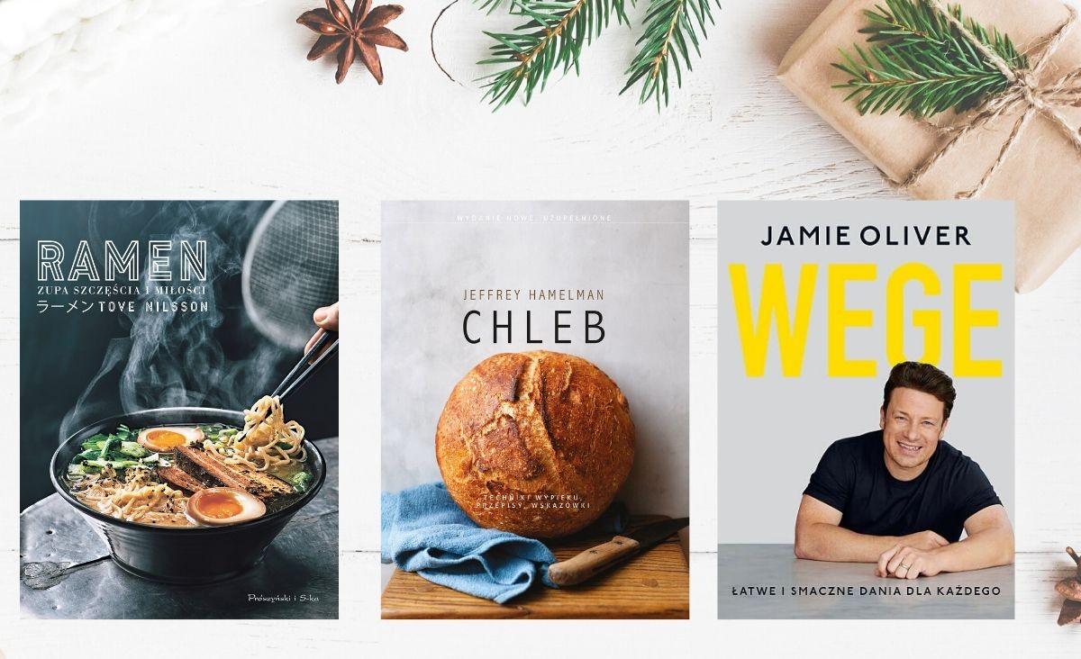 Książki kulinarne - pomysły na prezenty dla smakoszy