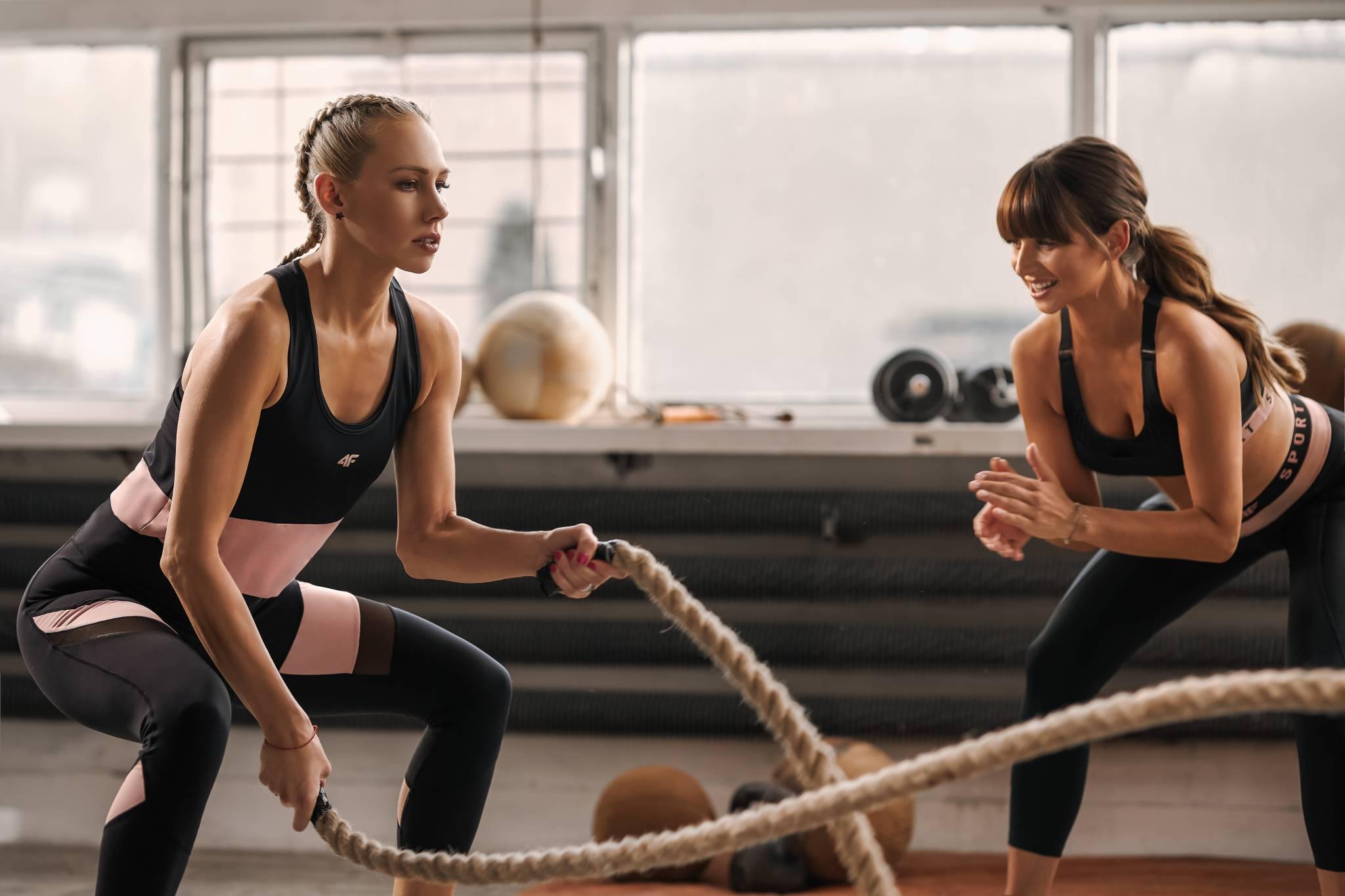 Anna Lewnadowska twarzą kampanii motywującej do treningu