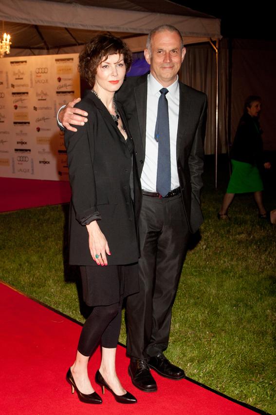 Gala Kryształowe Zwierciadła 2012, Agnieszka Glińska i Krzysztof Stelmaszczyk
