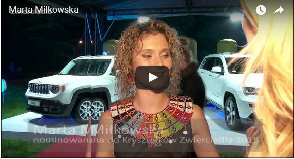 2015 nominacje: Marta Miłkowska