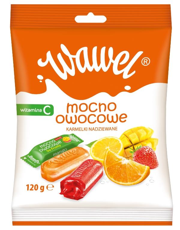 Karmelki Mocno Owocowe