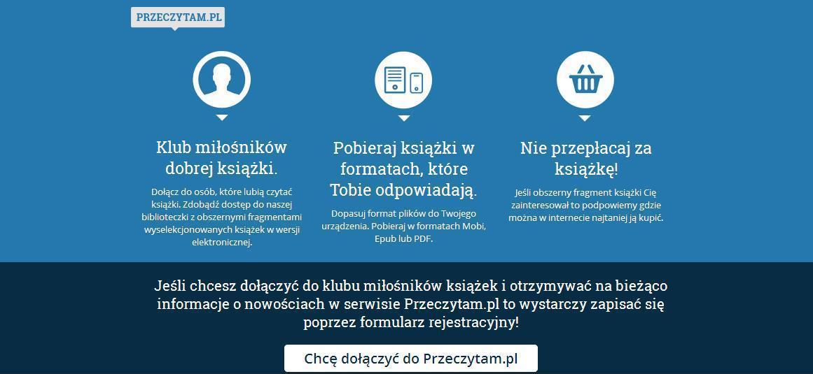 Przeczytam.pl – nowy serwis dla miłośników dobrej książki