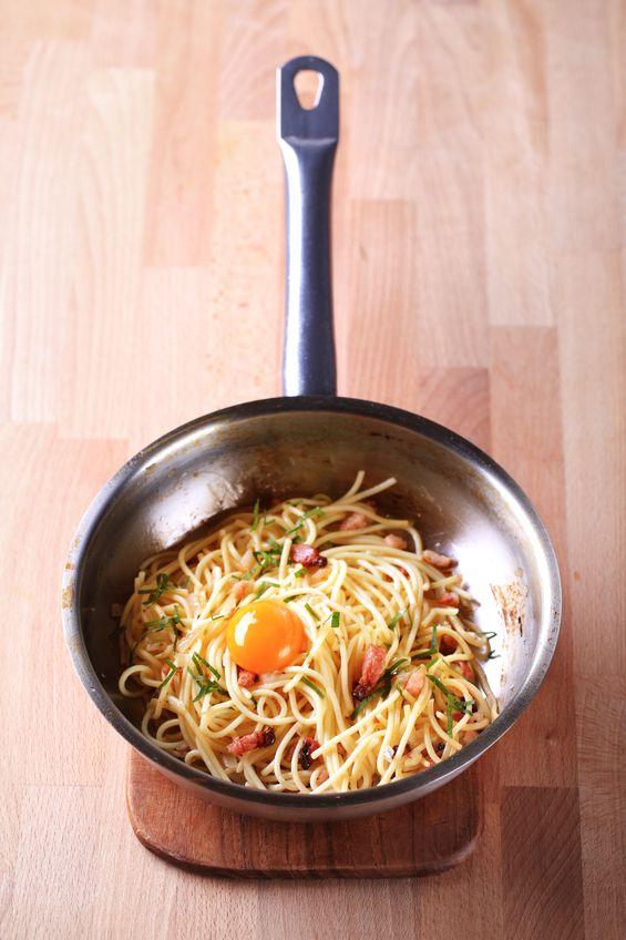Caro o ukochanym spaghetti carbonara