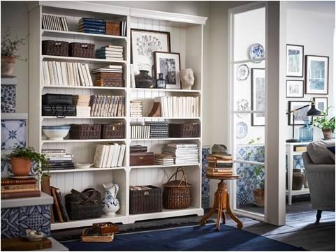 Domowa Biblioteka W Salonie Sypialni I Pokoju Dziecka