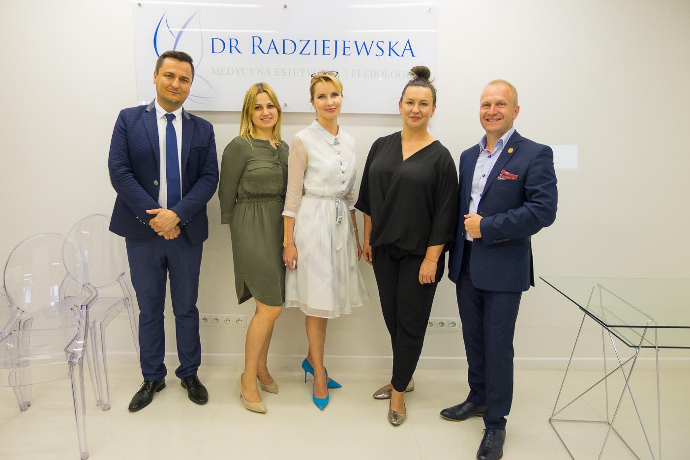 Spotkanie prasowe w klinice dr Radziejewskiej: Holistyczne podejście do medycyny estetycznej