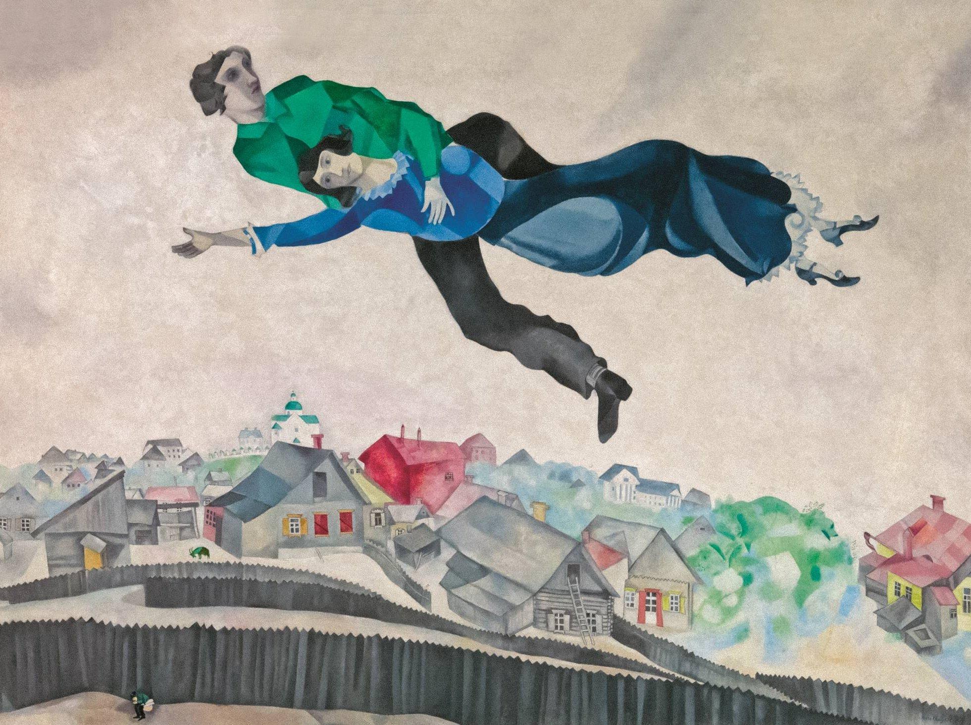 Chagall: A jednak zwycięstwo