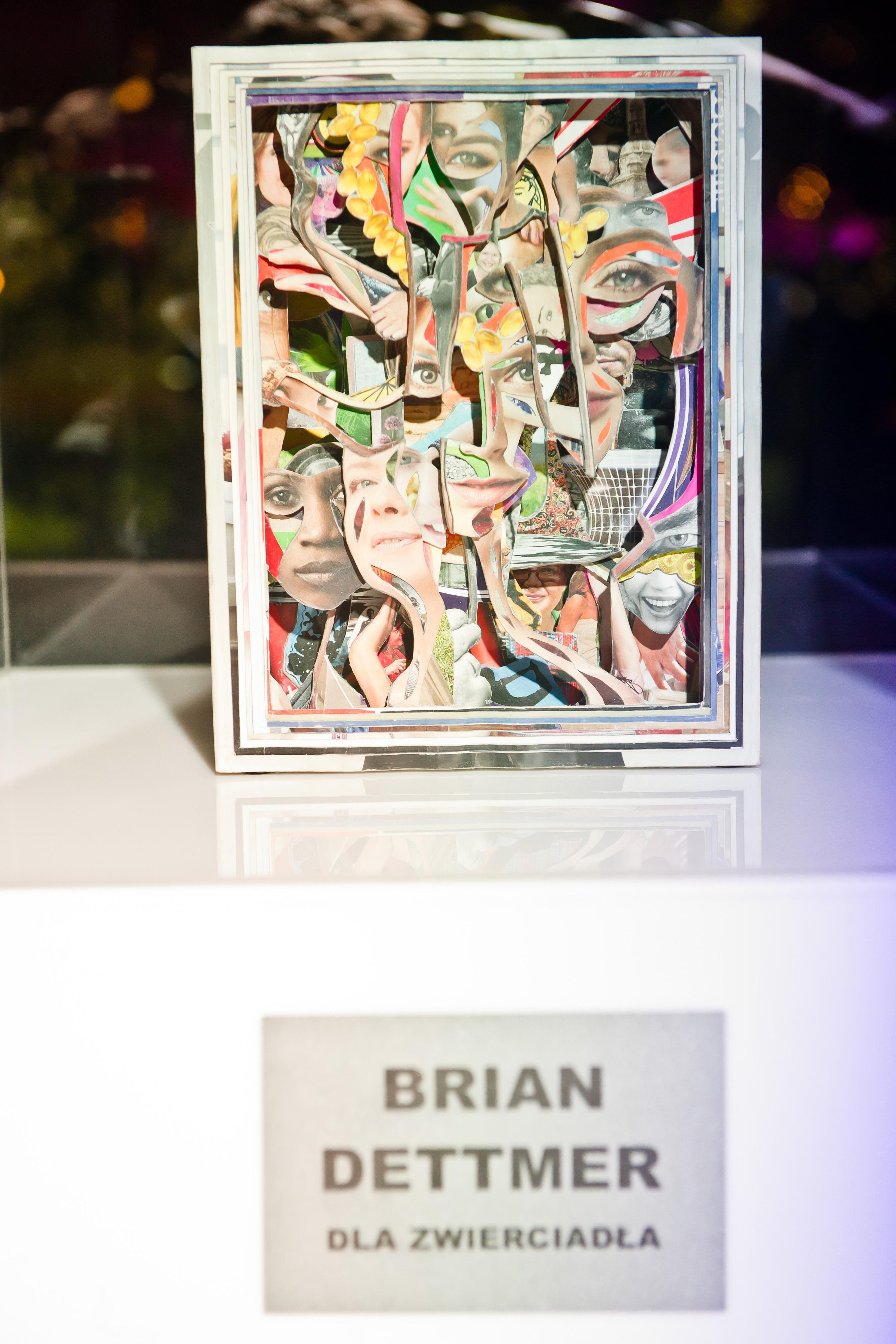 Archiwum Zwierciadło / Rzeźba Briana Dettmera