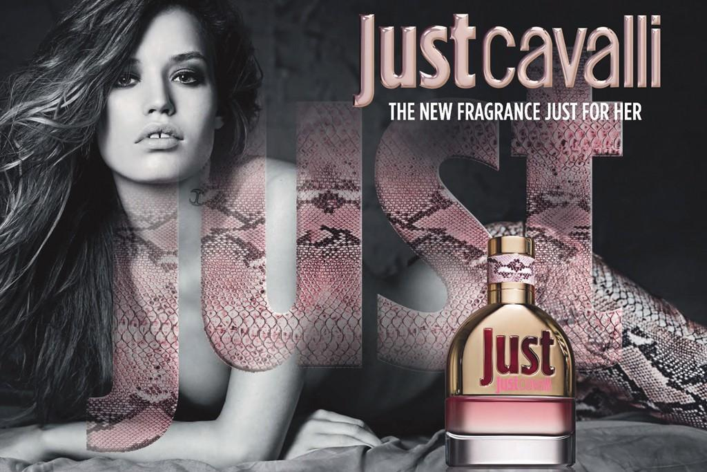 Georgia May Jagger twarzą perfum Just Cavalli