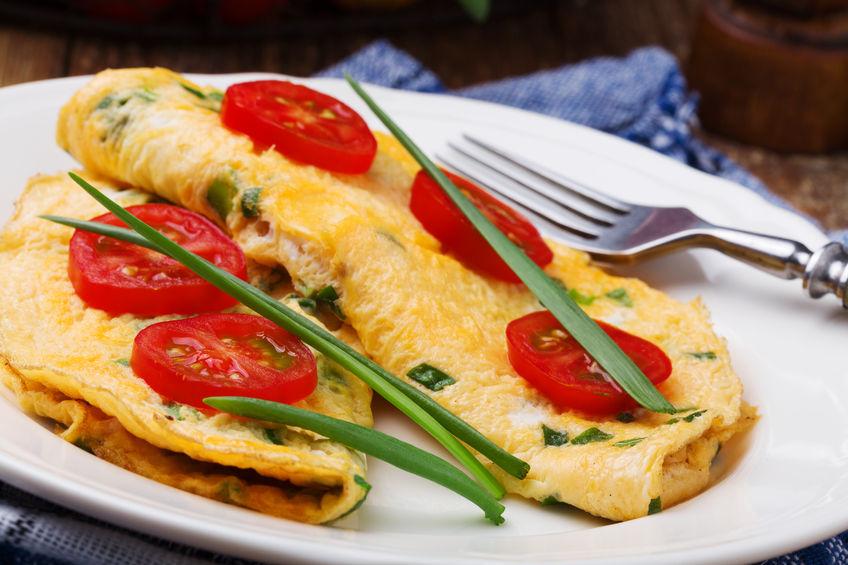 3 przepisy na omlet