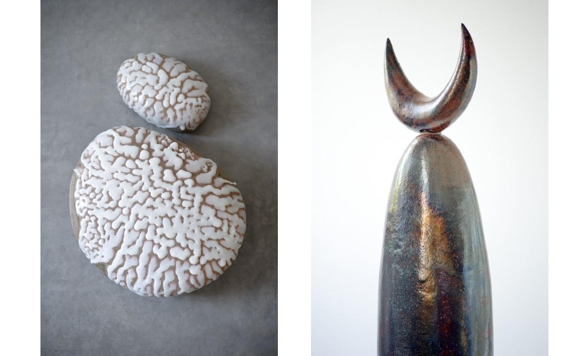 Wystawa ceramiki artystycznej prof. Cybińskiej w Uroczysku Siedmiu Stawów