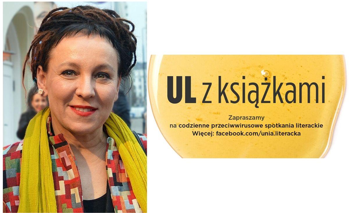 Wirtualne spotkanie z Olgą Tokarczuk - słuchajmy noblistki
