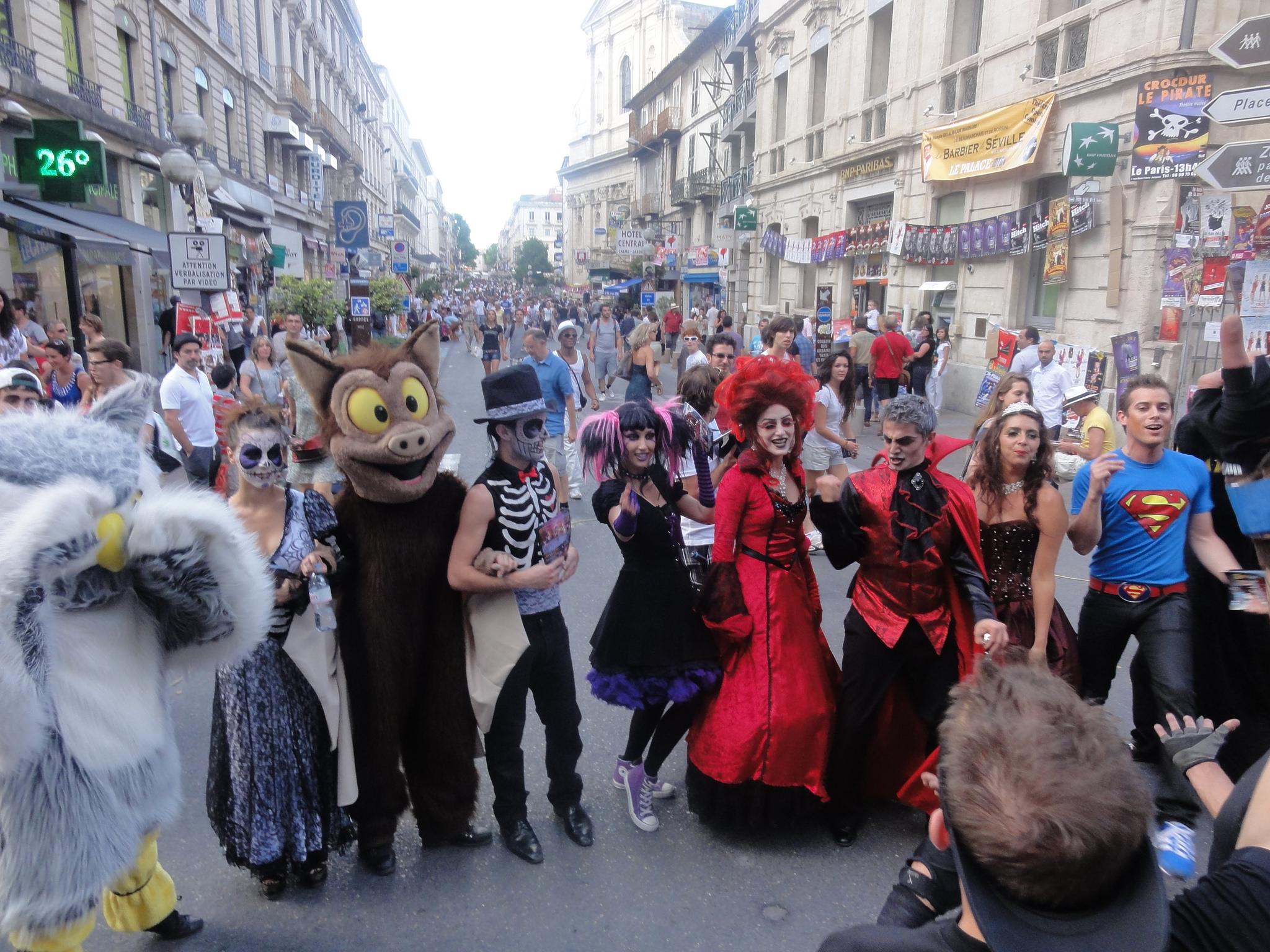 Lupa otwiera festiwal w Awinionie