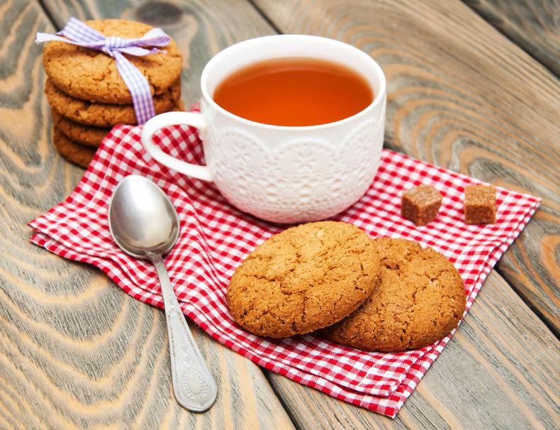 Przepis na herbaciane ciasteczka