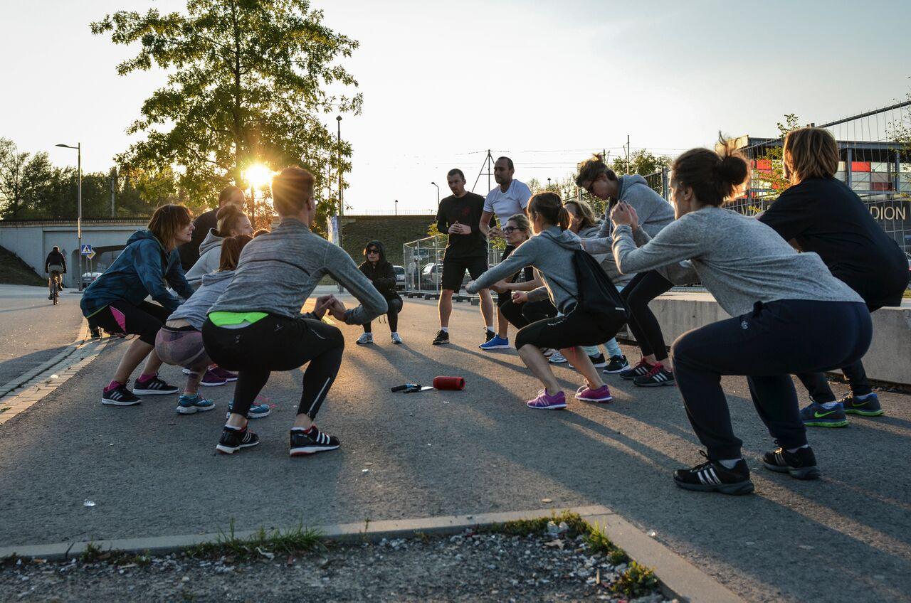 Bieganie ma Sens - trening