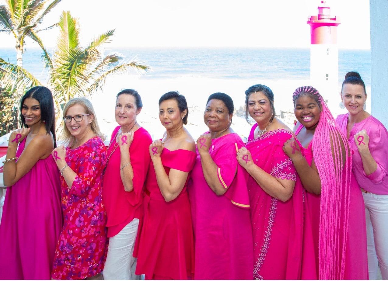 Różowa wstążka - symbol wspólnej walki