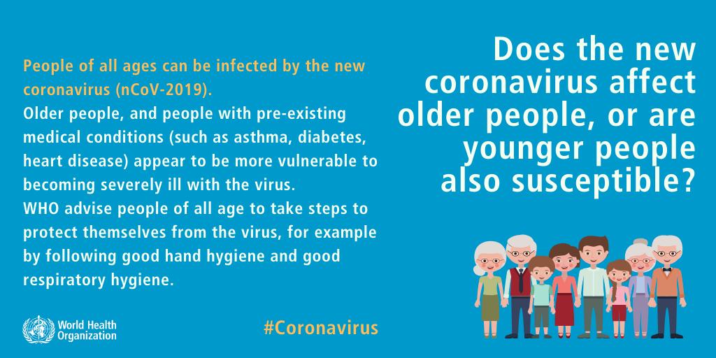 WHO obala mity na temat koronawirusa