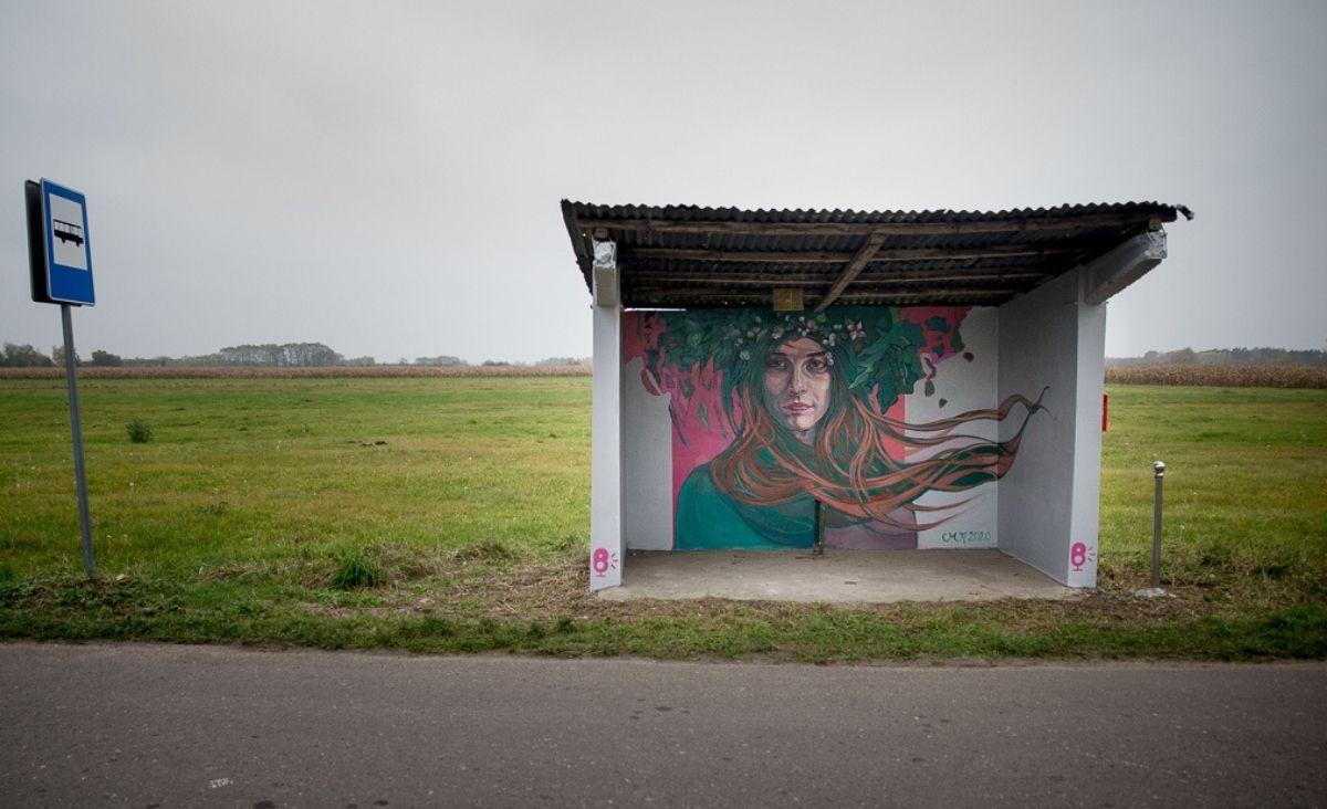 """""""Folkowe Przystanki"""" – śródpolna galeria sztuki"""
