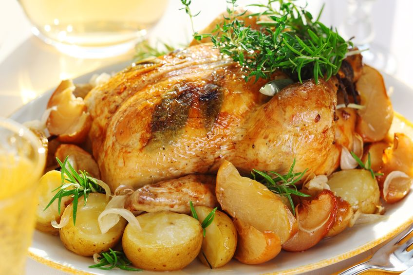 Małkowska i kurczak na słodko