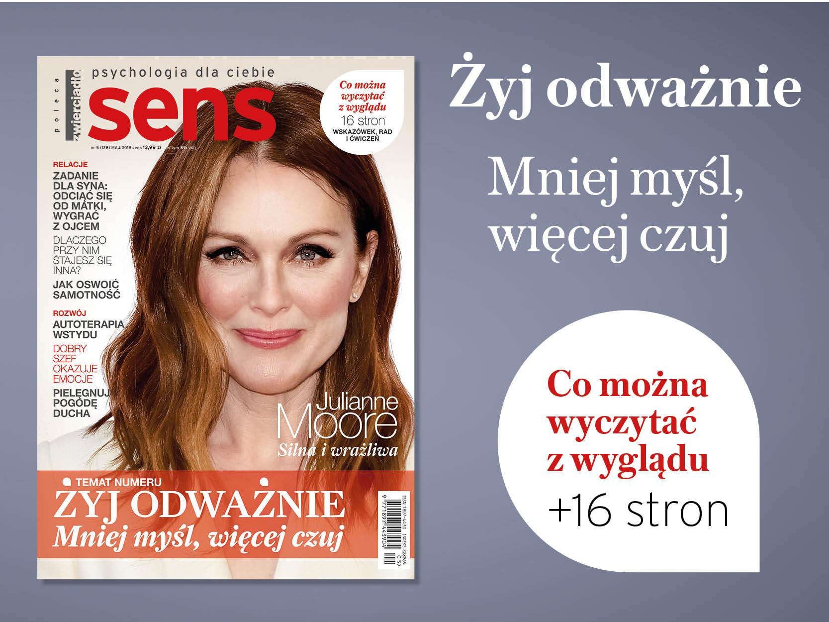 Majowe wydanie miesięcznika Sens już w sprzedaży!