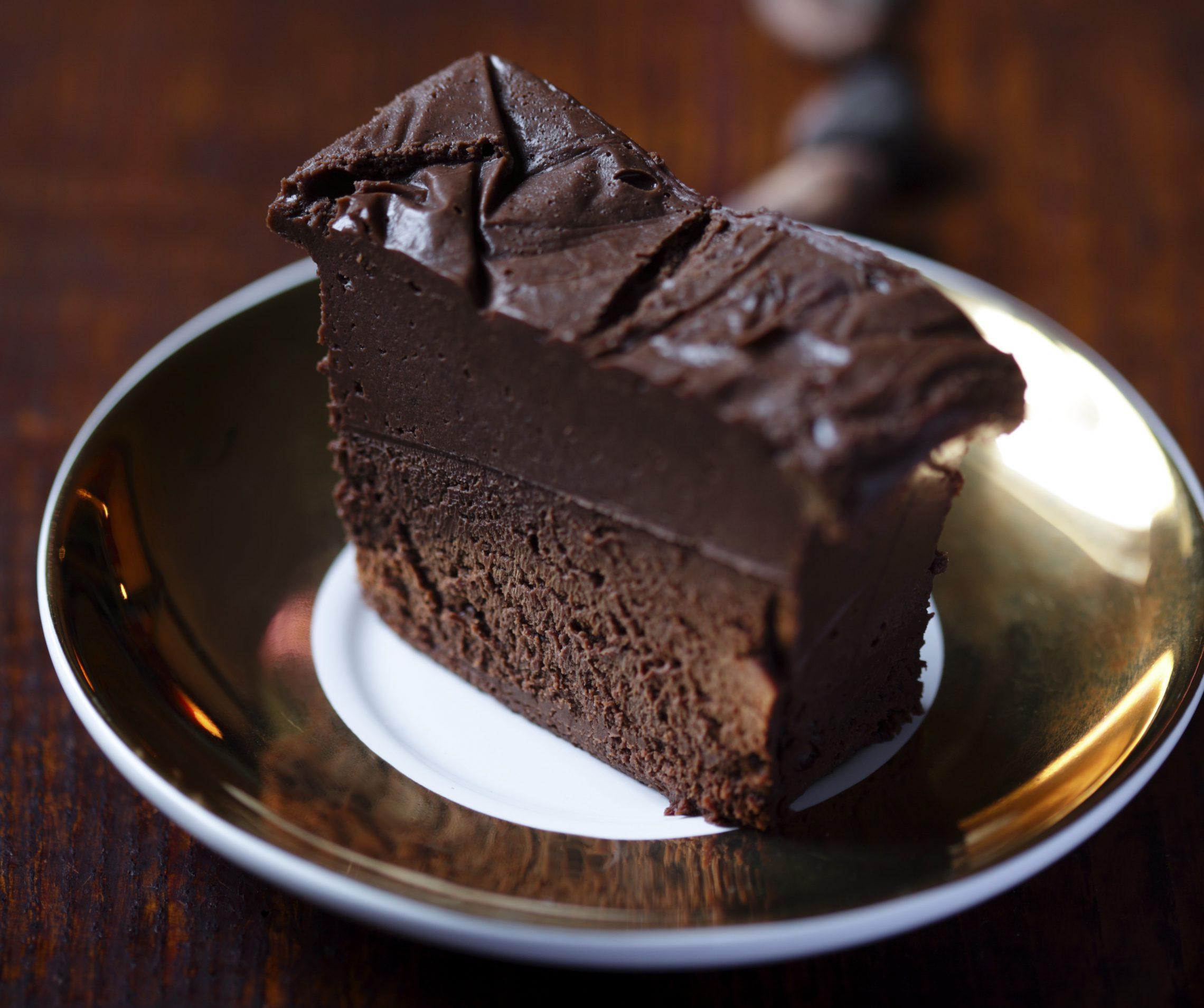 Mus z ciemnej czekolady