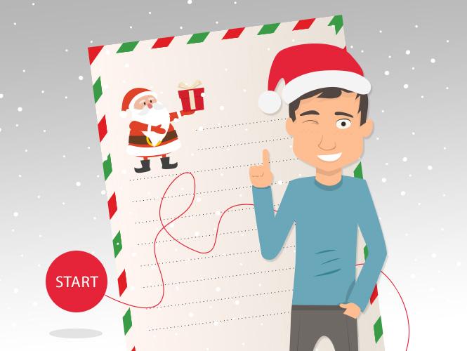 Praktyczny prezent pod choinkę? List do Świętego Mikołaja