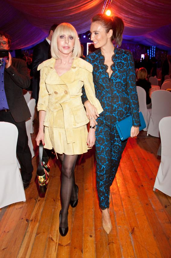 Gala Kryształowe Zwierciadła 2012, Grażyna Kulczyk z córką, Dominiką Kulczyk-Lubomirską