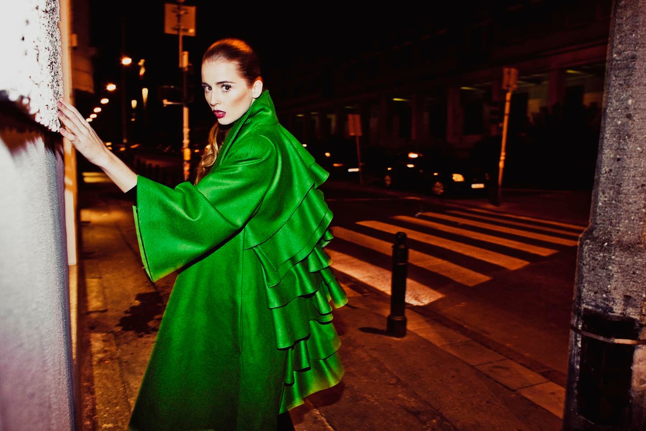 Emerald Mist by Rina Cossack, kolekcja jesień-zima 2011-2012