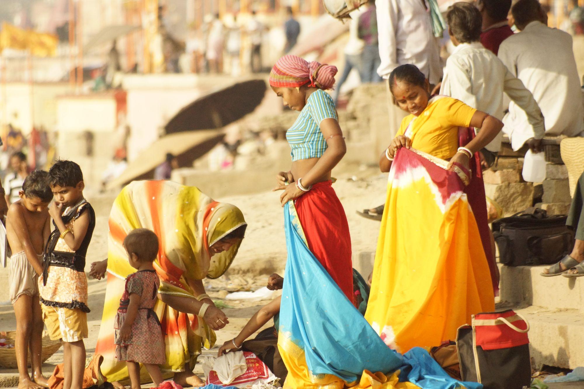 W świętym mieście Waranasi