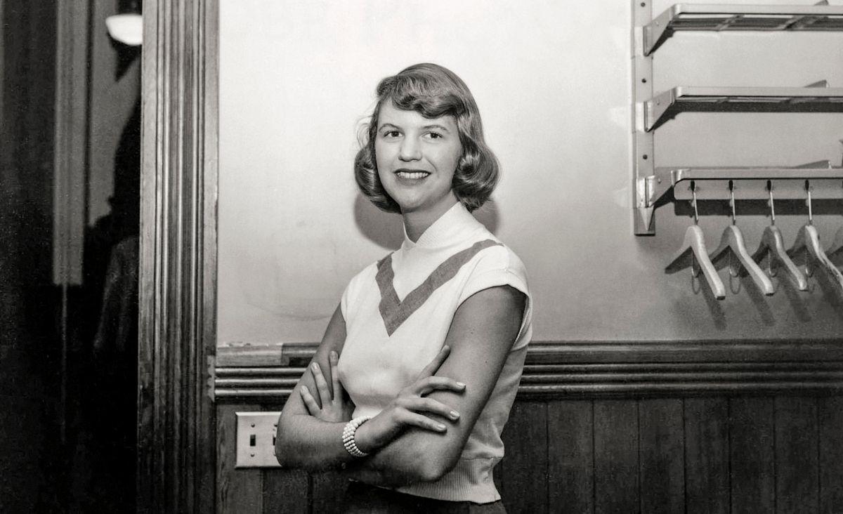 Sylvia Plath - w nieustannej walce o poezję, pracę i życie