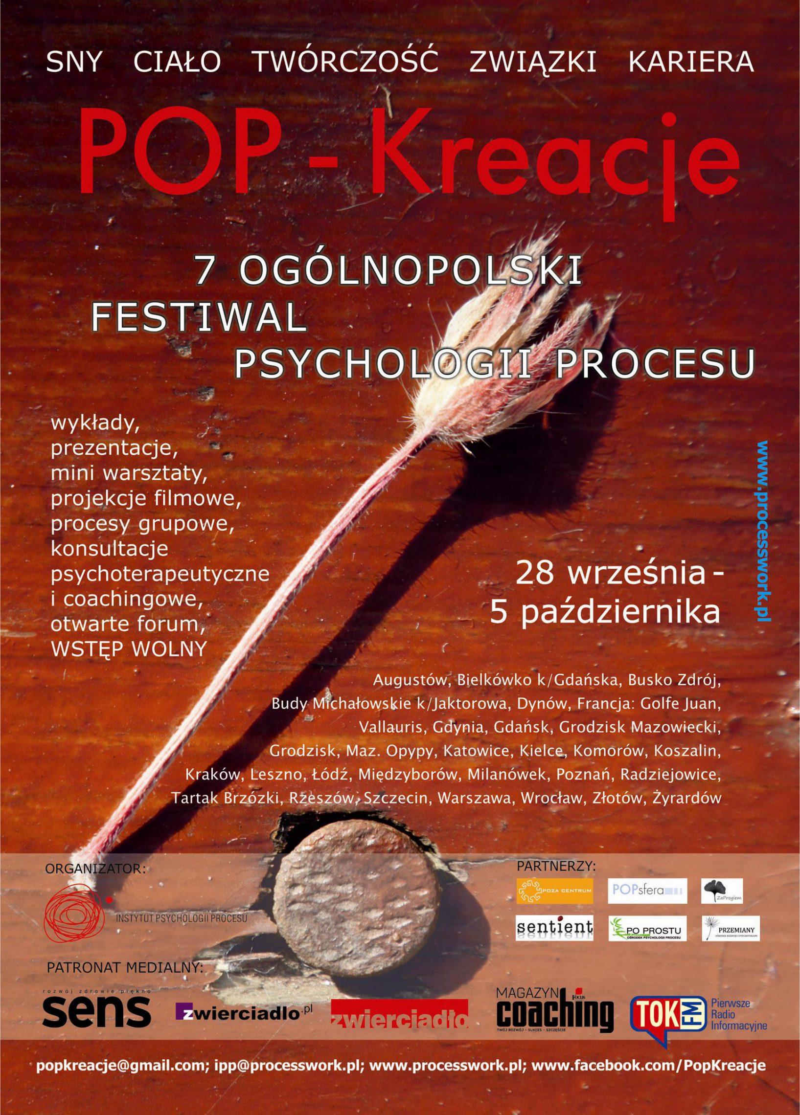 POP - Kreacje – festiwal praktycznej psychologii