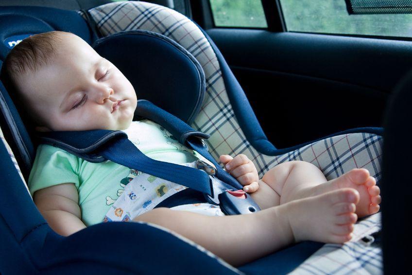 Podróż samochodem z dzieckiem
