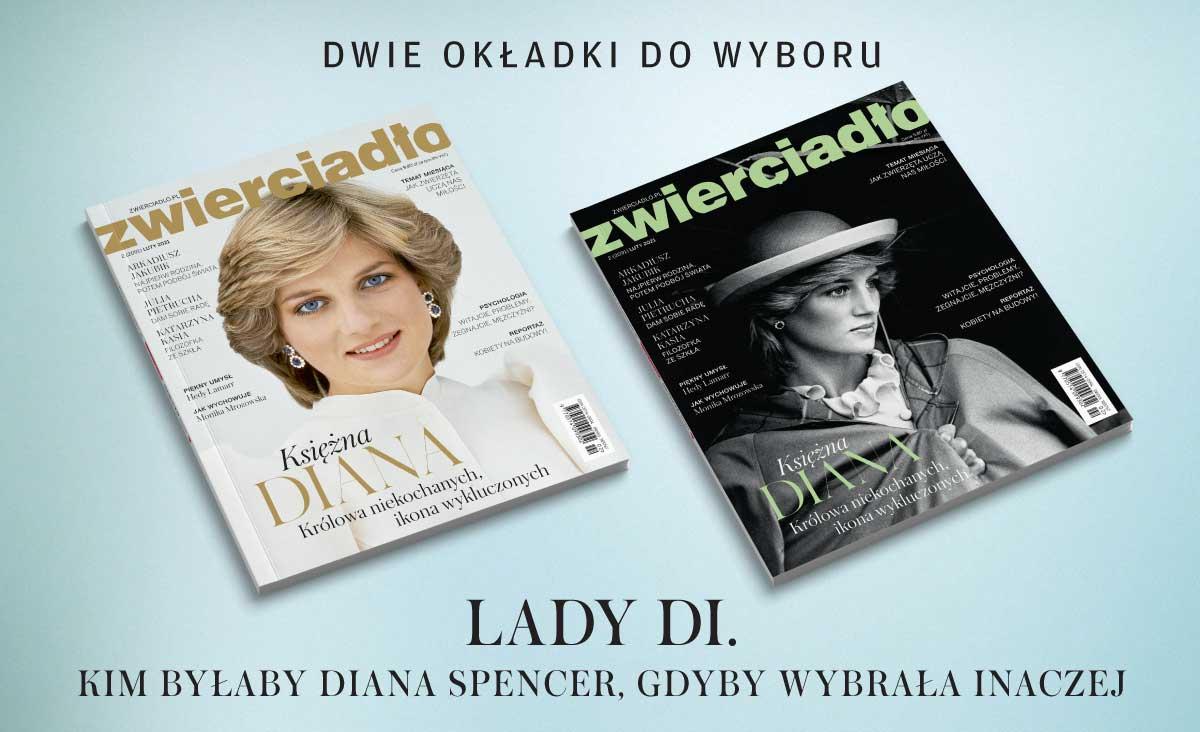 """""""Zwierciadło"""" z księżną Dianą na okładce"""