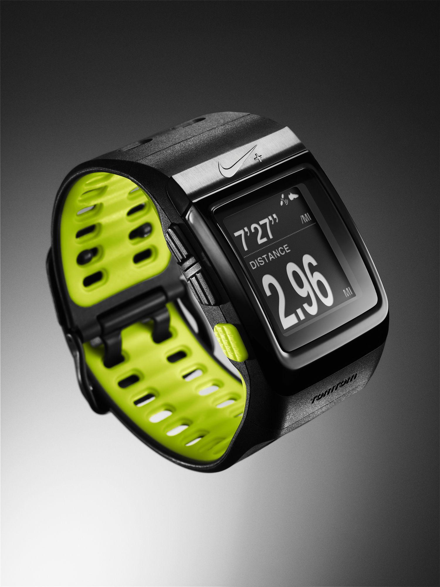 TomTom and Nike+ sportswatch, materiały prasowe