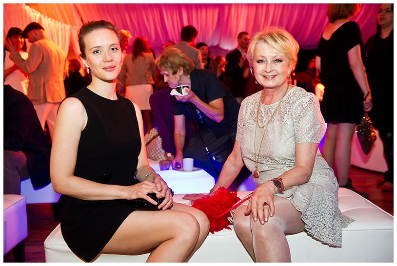 Gala Kryształowe Zwierciadła 2012, Magdalena Zawadzka i Hanna Konarowska
