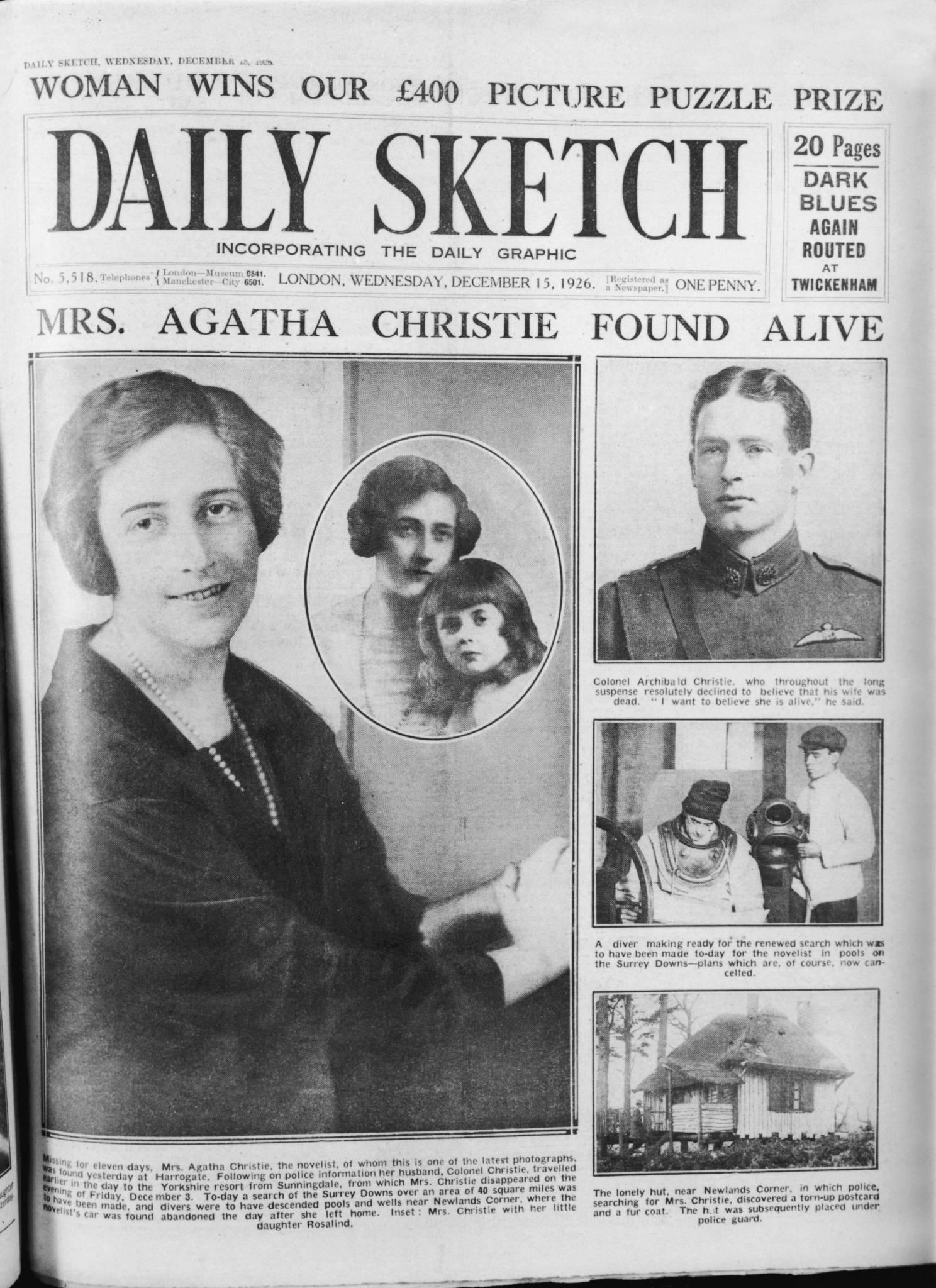 Agatha Christie. Życie ciekawsze niż książki