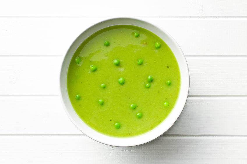 Pikantna zupa z groszku