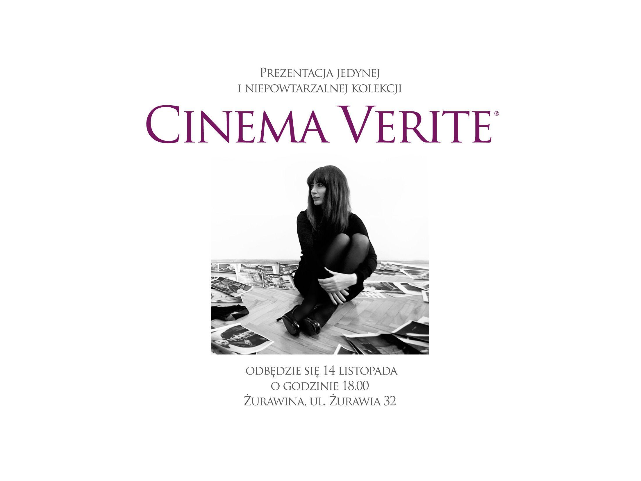 Cinema Verite od Ewy Bukowskiej