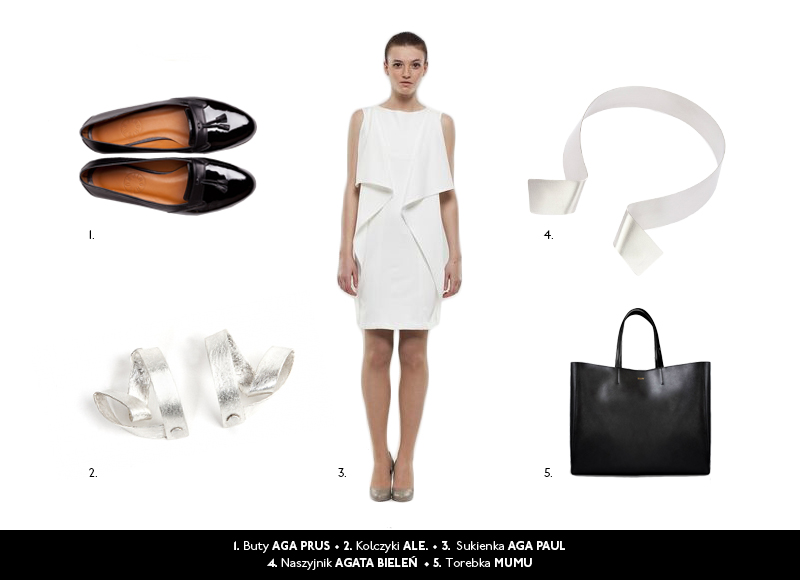 Szach-mat: moda na czarno-białe kontrasty