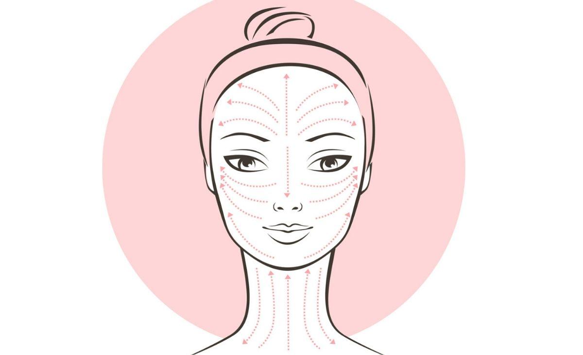 Masaż twarzy - przepędzamy chomiki