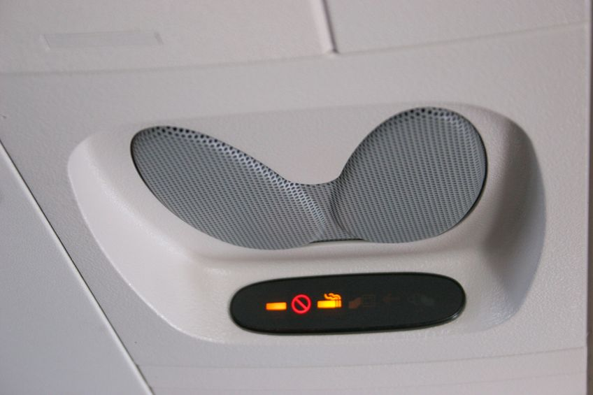 Podróże samolotem bez papierosa!