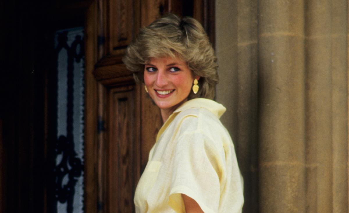 Księżna Diana - portret damy