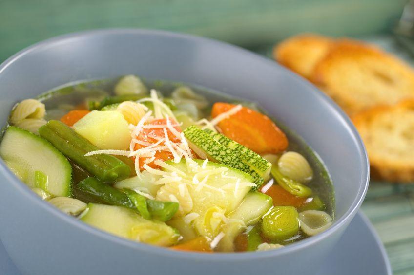 Minestrone - włoska zupa warzywna