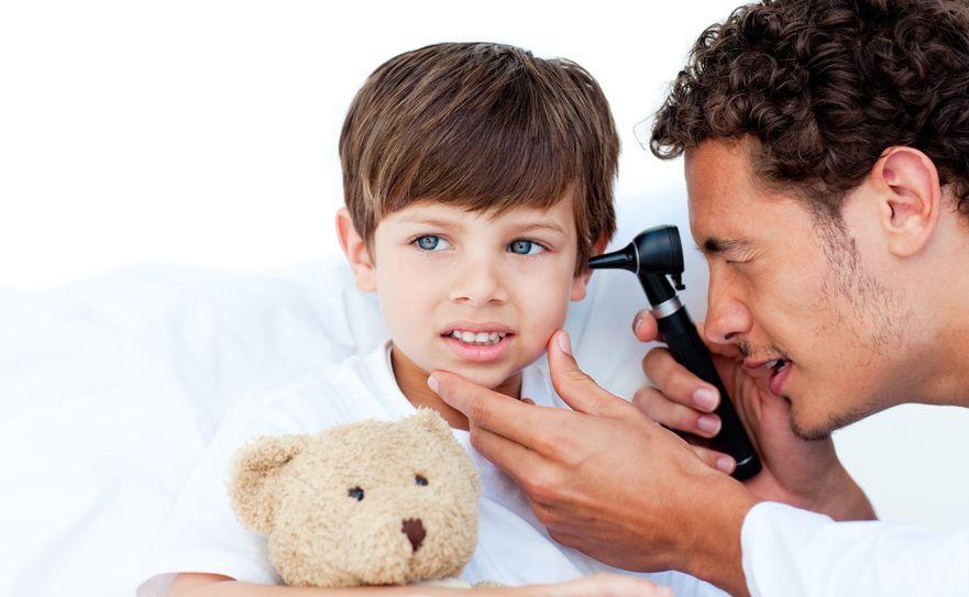 Zapalenie ucha u malucha