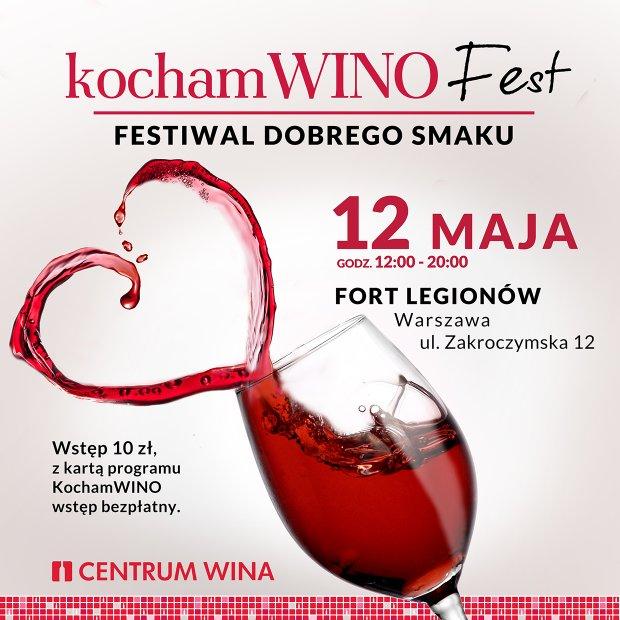 Kocham Wino Fest już w tę niedzielę!