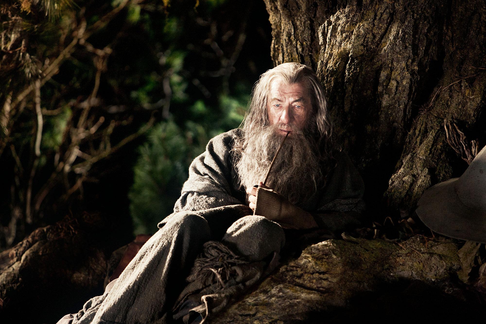 Czarodziej Gandalf w filmie Hobbit: Niezwykła podróż