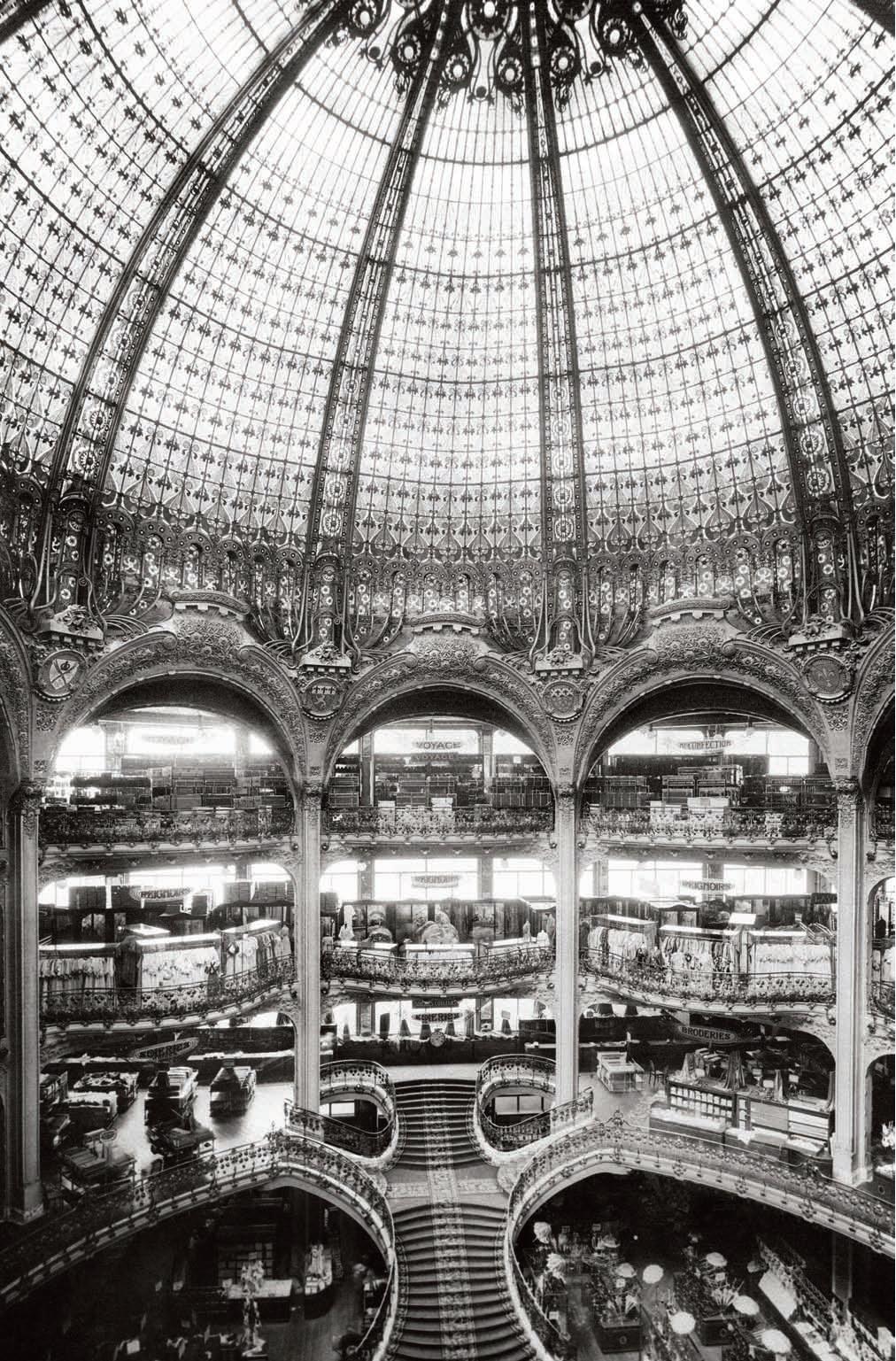 Stulecie Galeries Lafayette