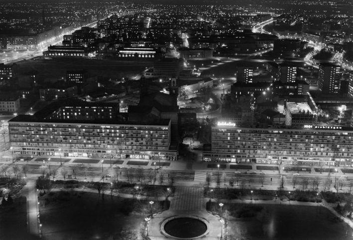 Warszawa z lat 50. i 60. na zdjęciach Siemaszki