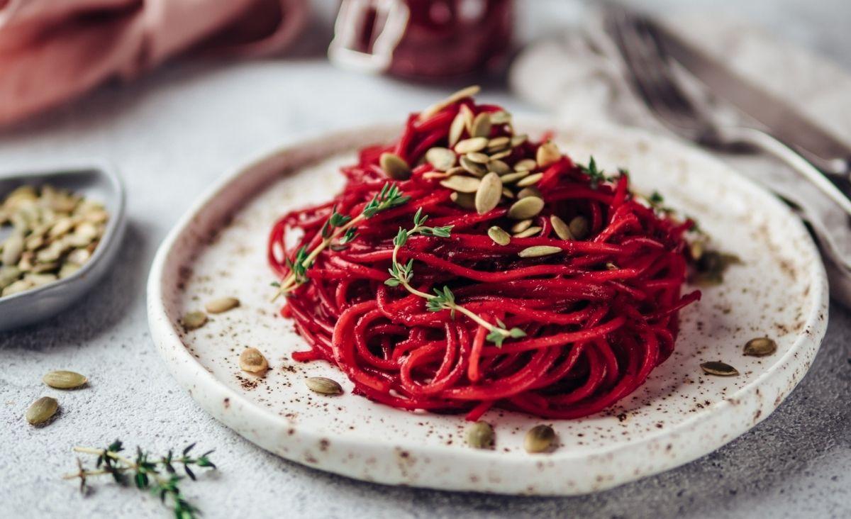 Przepisy na warzywne spaghetti